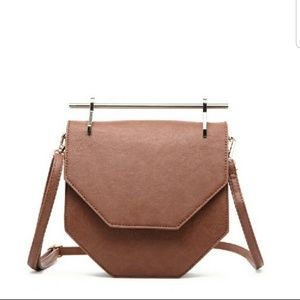 Hester Crossbody Bag-Brown